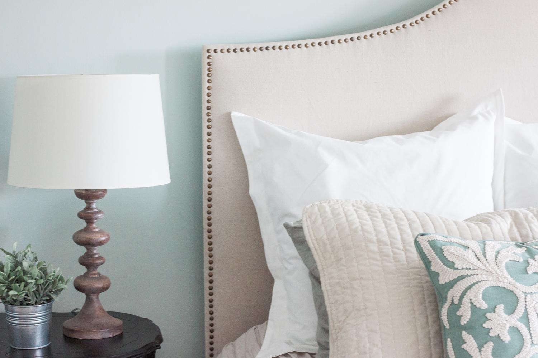 DIY Farmhouse Style Lamp