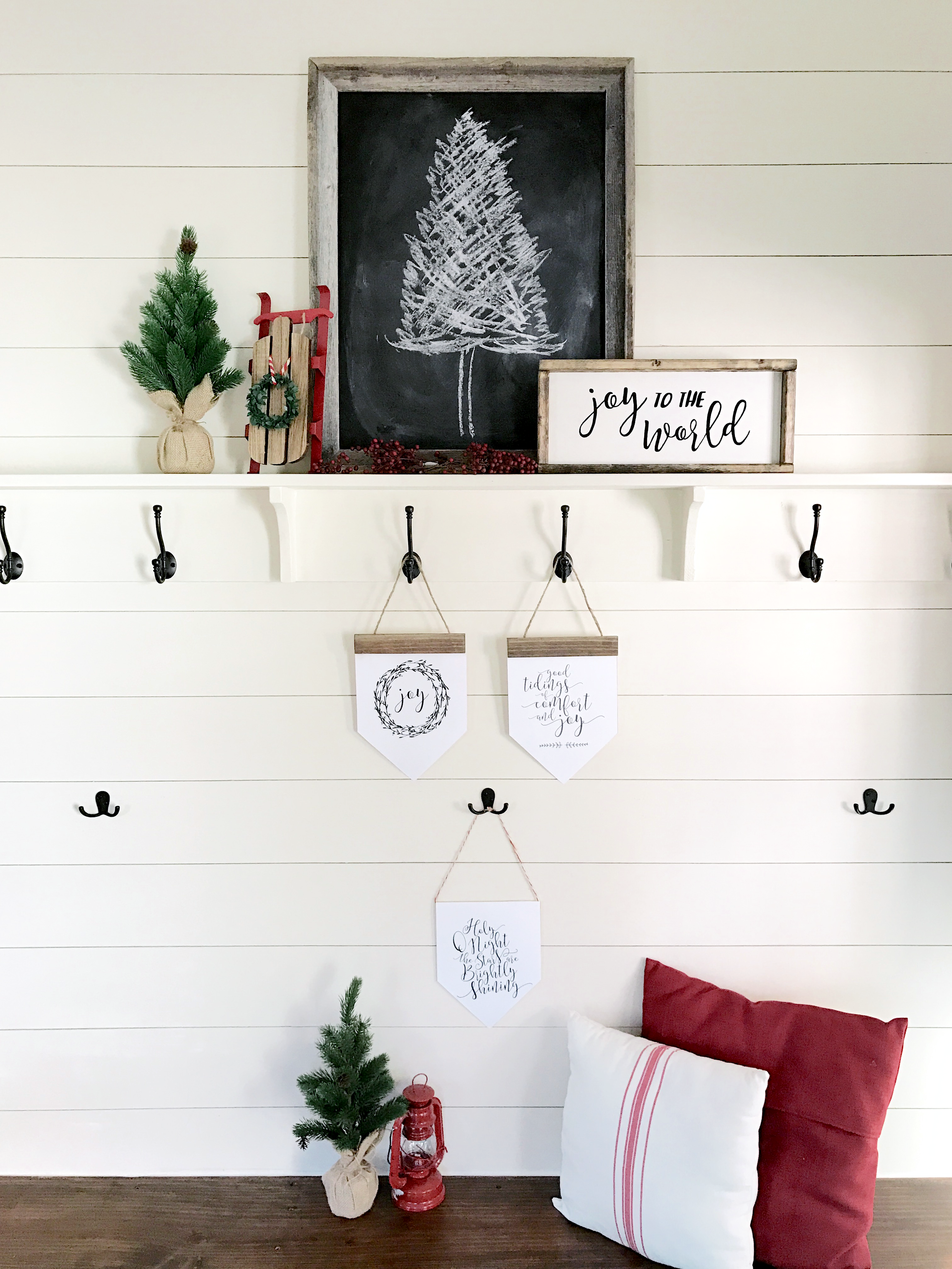 Gather & Flourish | FREE Holiday Mini Banners Printable!
