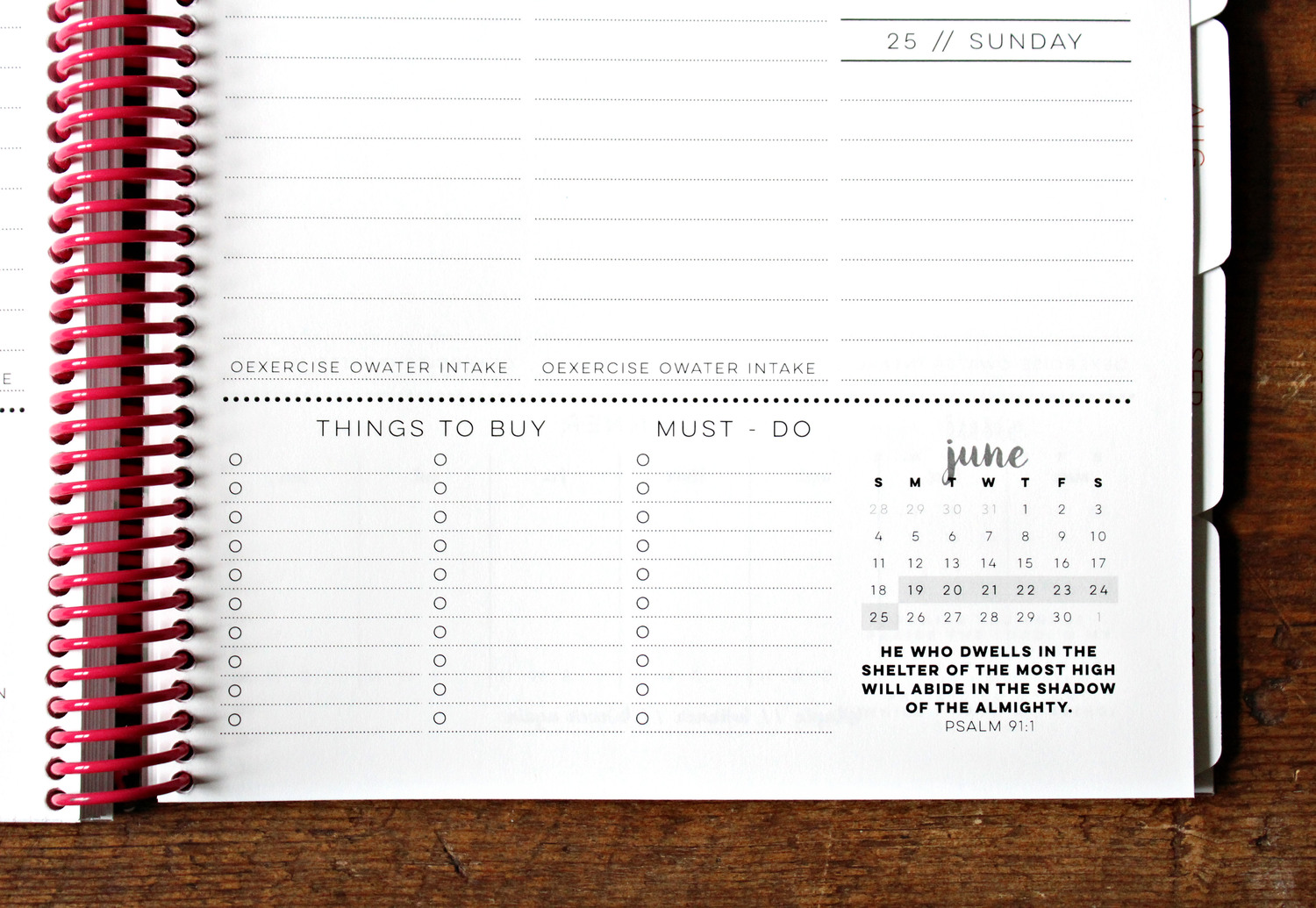 The best planner for an organized life --Jitney's Journeys Agenda