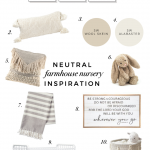 Neutral Farmhouse Nursery Inspiration
